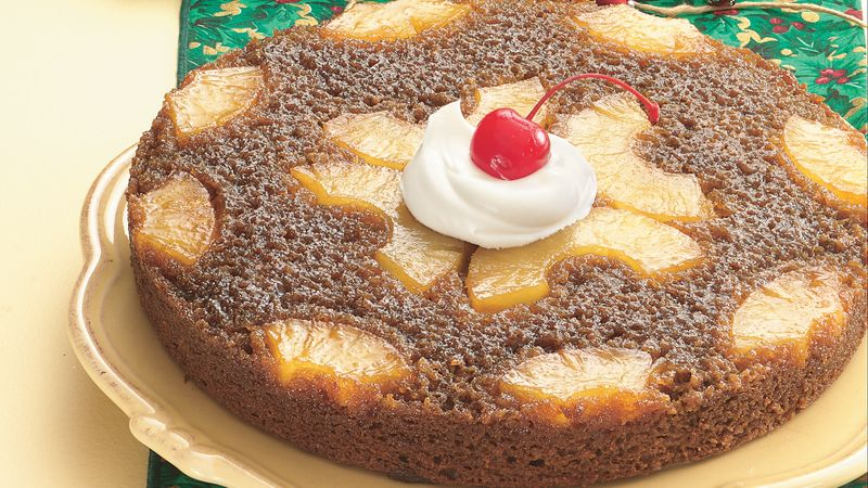 Pineapple Upside-Down Gingerbread