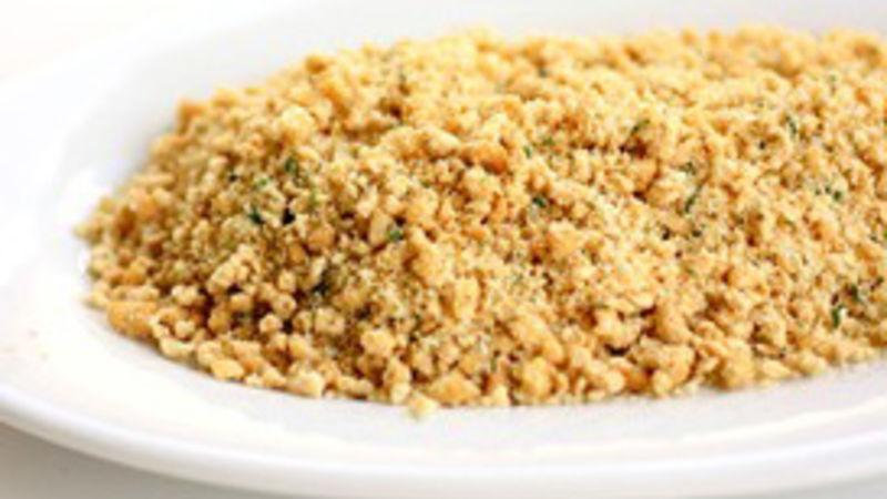 Parmesan Garlic Crumb Casserole Topping