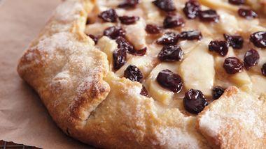 Cherry-Almond-Pear Crostata