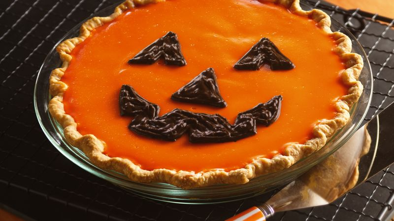 Jack–o'–Lantern Orange-Pumpkin Pie