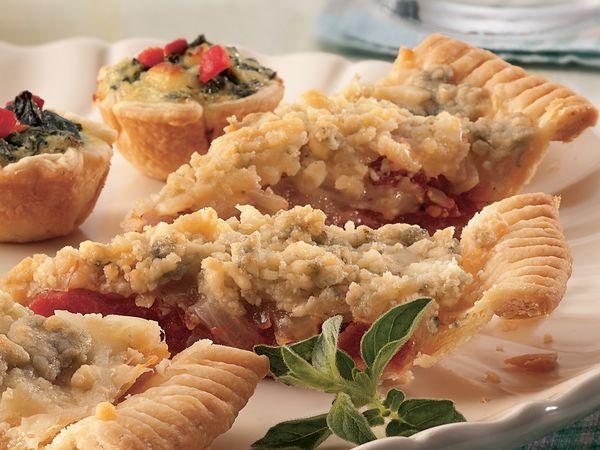 Gorgonzola and Onion Pie