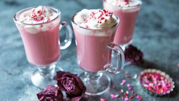 Pink Velvet Hot Chocolate