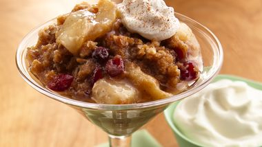 Pear-Rum Crisp