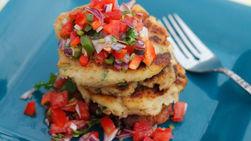 Potato and Tuna Pancakes