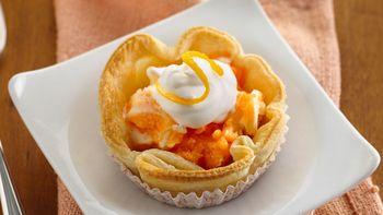 Orange Dream Mini Ice Cream Pies