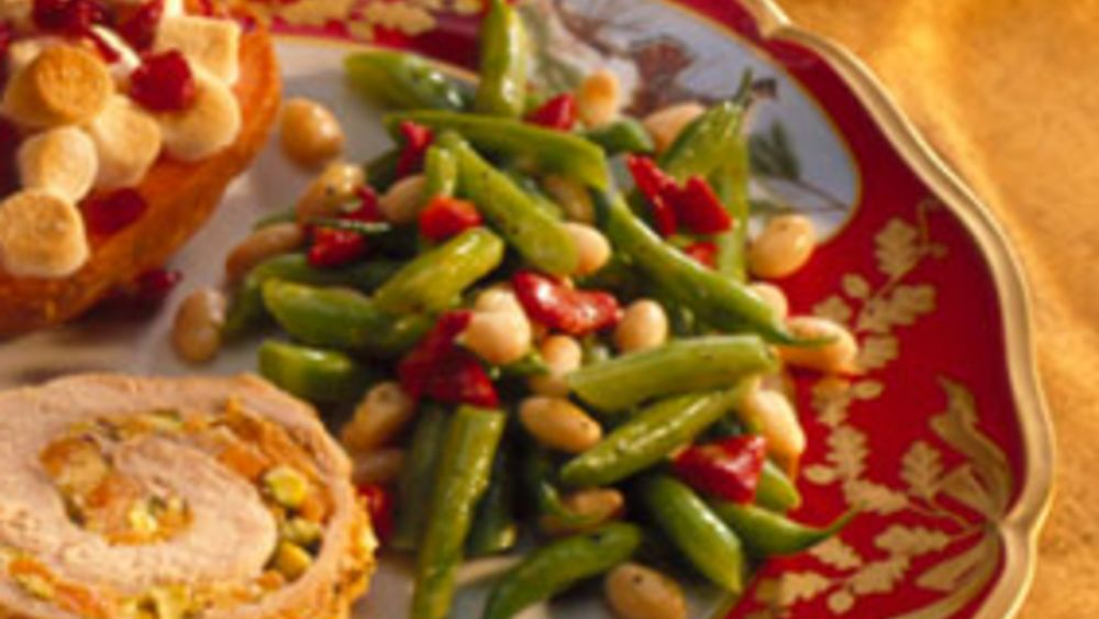Red, White and Green Beans