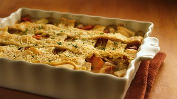 Country Chicken Bacon Pot Pie