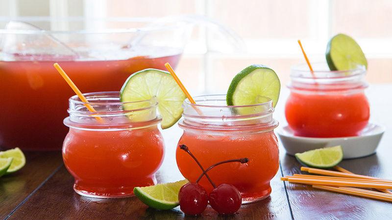 Blood Orange Rum Punch