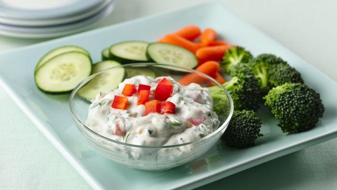 Gluten-Free Fresh Dill Yogurt Dip