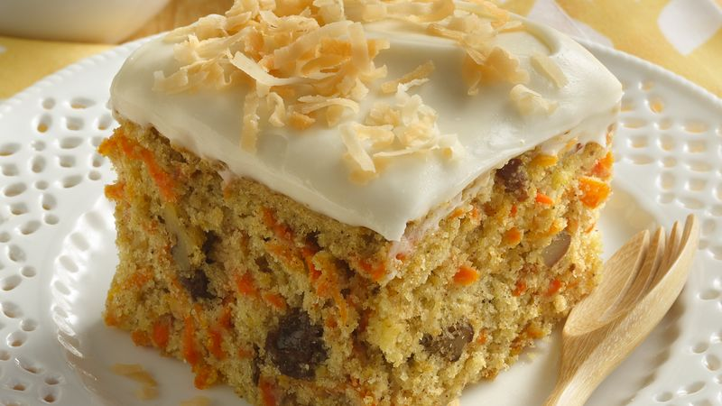 Morning Glory Carrot Cake