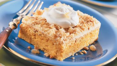 Gingered Pumpkin Crumble
