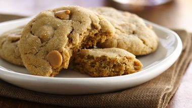 Peanut Butter Chip Cookies (White Whole Wheat Flour)