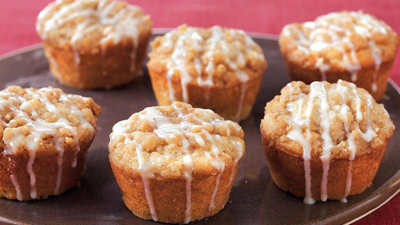 Banana-Toffee Coffee Cakes