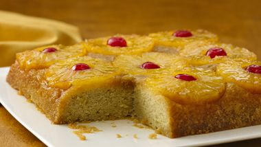Gluten-Free Pineapple Upside Down Cake