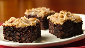 Gluten-Free German Chocolate Brownies