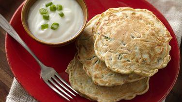 Pancakes de Verduras Picadas