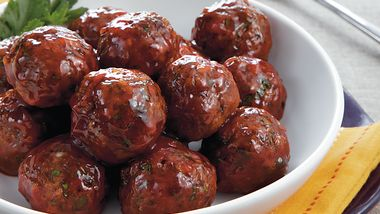 Meatloaf Surprise Meatballs