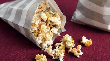Maple Rosemary Popcorn