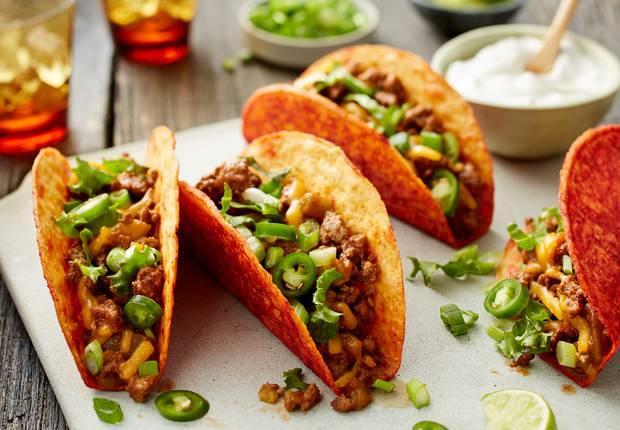 ... spicy tacos beefy bacon ranch spicy tacos chicken and black bean spicy