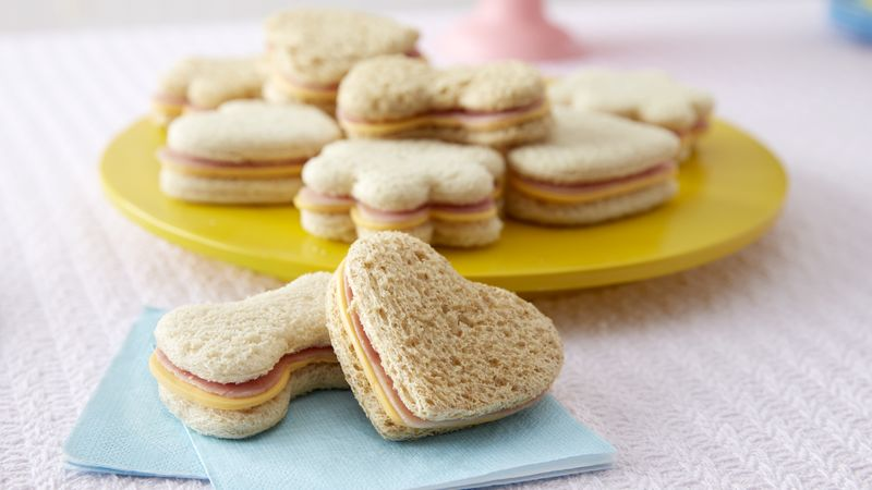 Hello Kitty® Ham and Cheese Sandwiches