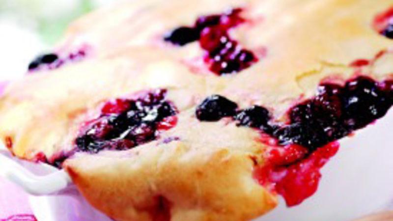 Skillet Cherry Cobbler recipe from Betty Crocker