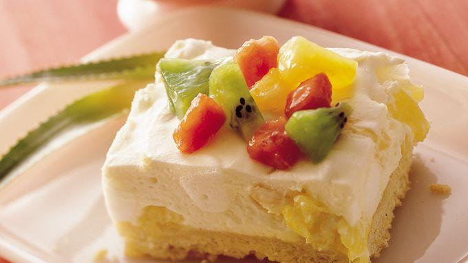 Light and Creamy Tropical Dessert