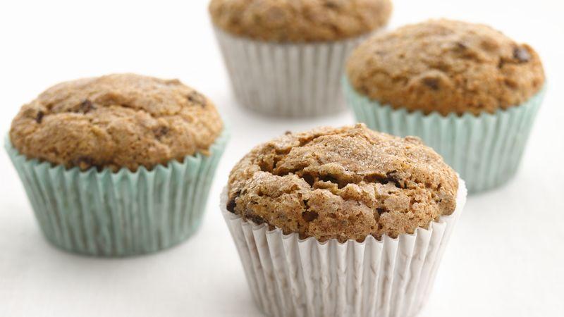 Skinny Banana-Chocolate Chip Muffins