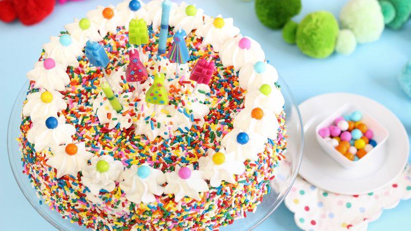 Vanilla Chex™ Sprinkle Cake