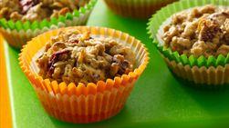 Muffins de Avena y Yogurt con Moras