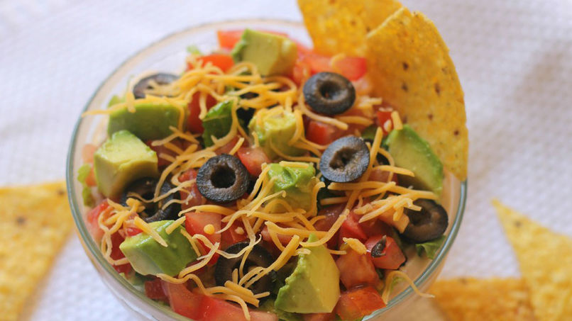 Super Easy Taco Dip