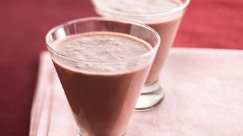 Chocolate-Raspberry Smoothies