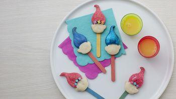 Trolls Cookie Pops