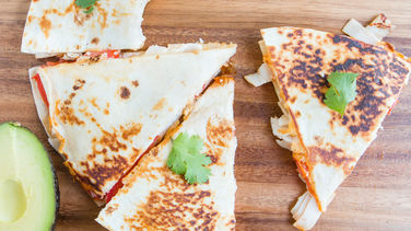 Turkey and Cheese Quesadilla