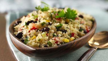Quinoa with Black Beans