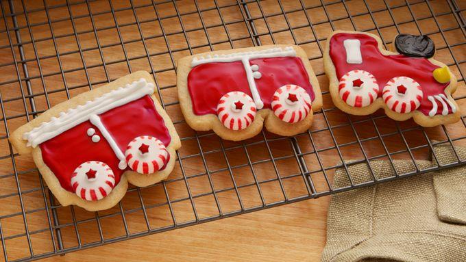 Choo Choo Train Cookies