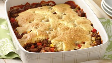 Easy Hamburger Pot Pie