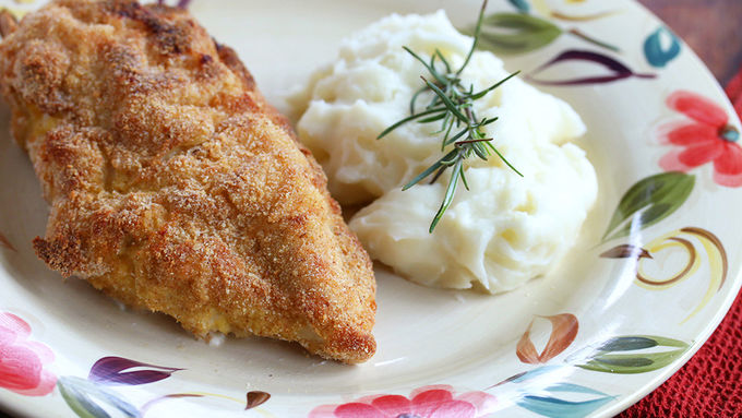 Rosemary Goat Cheese-Stuffed Baked Chicken recipe - from Tablespoon!