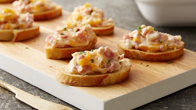Hot Ham and Cheese Dip