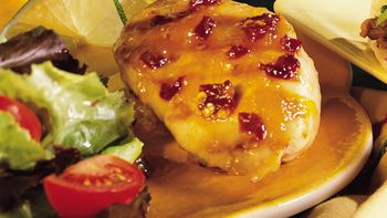 Chipotle and Peach Glazed Chicken