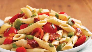 Bacon and Basil Pasta Salad
