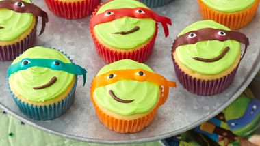Teenage Mutant Ninja Turtles Cupcakes