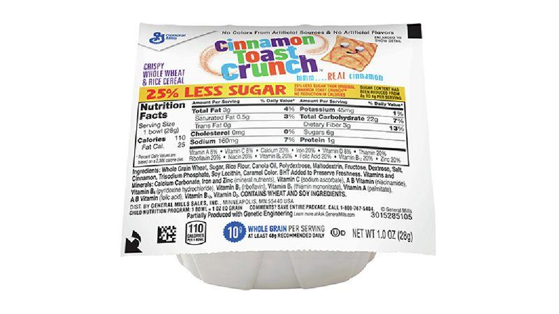 Cinnamon Toast Crunch™ 25% Less Sugar
