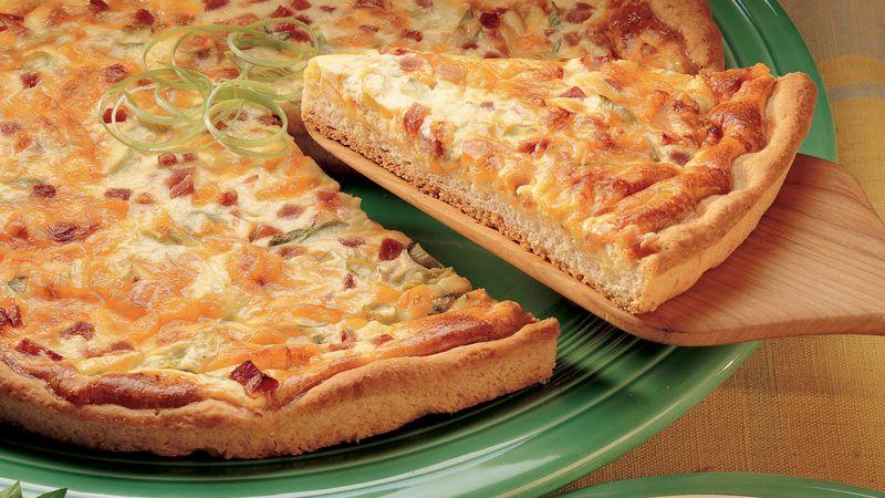 Quick Brunch Pizza