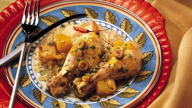 Slow-Cooker Moroccan Chicken