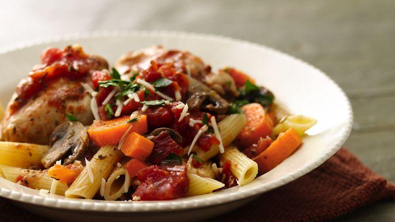 Slow-Cooker Rustic Italian Chicken