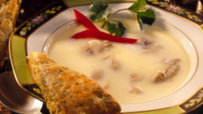 Oyster Stew recipe from Betty Crocker