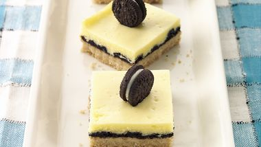Oreo™ Cookie-Cheesecake Bars