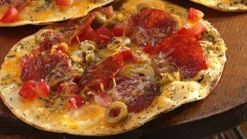 Grilled Crisp-Crust Pizzas