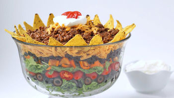 Mexican Layer Dip Salad