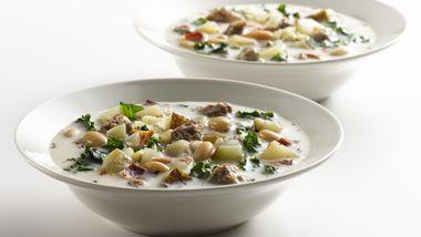 Skinny Italian Sausage Soup